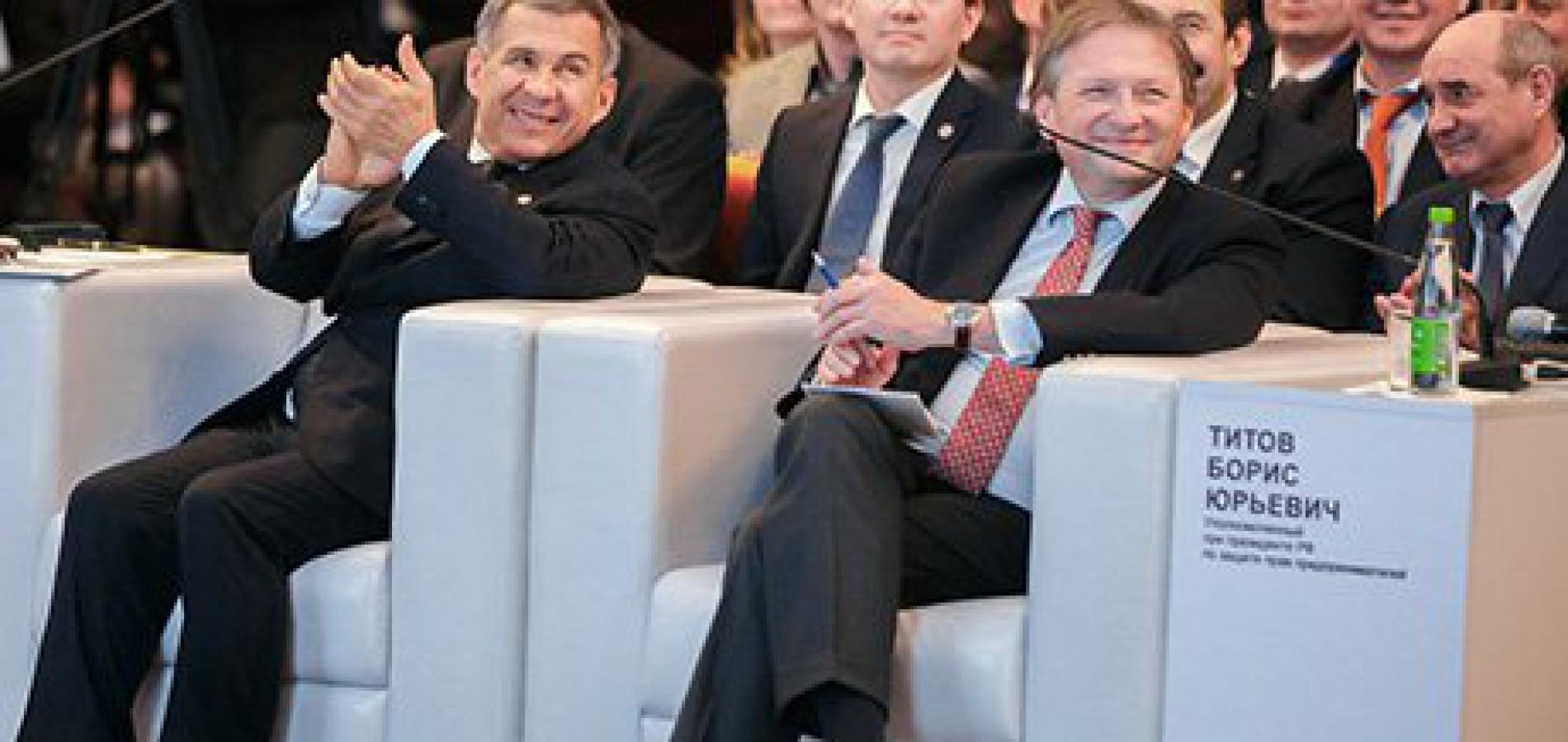 Борис Титов: «Мы никогда не согласимся, что Запад – нам враг!»