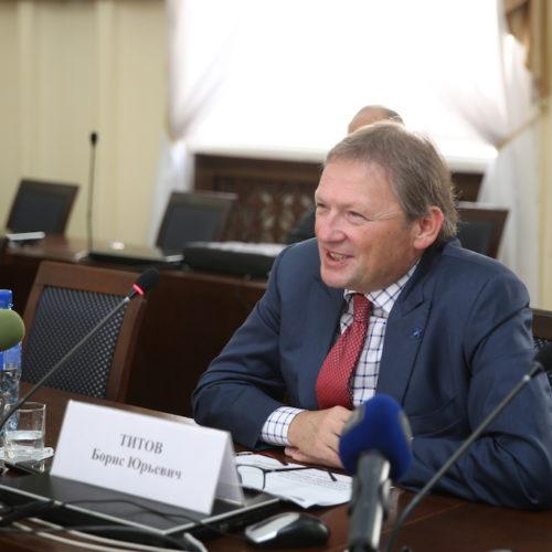 Борис Титов посетил с официальным визитом Республику Бурятия