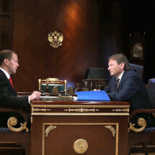 Борис Титов представил Дмитрию Медведеву первоочередные меры по возобновлению роста экономики