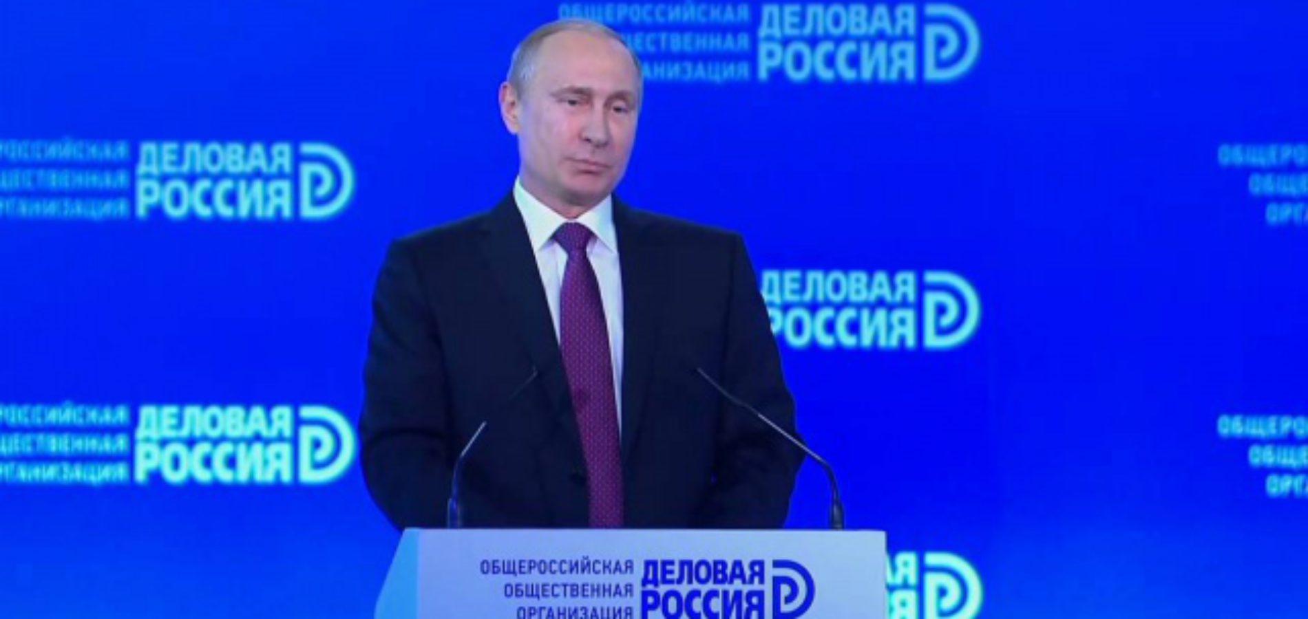 Путин поддержал Центробанк в споре с предпринимателями