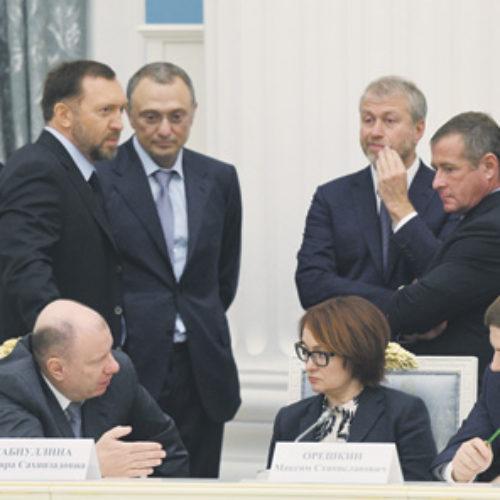 Путин собрал капитанов бизнеса в Кремле
