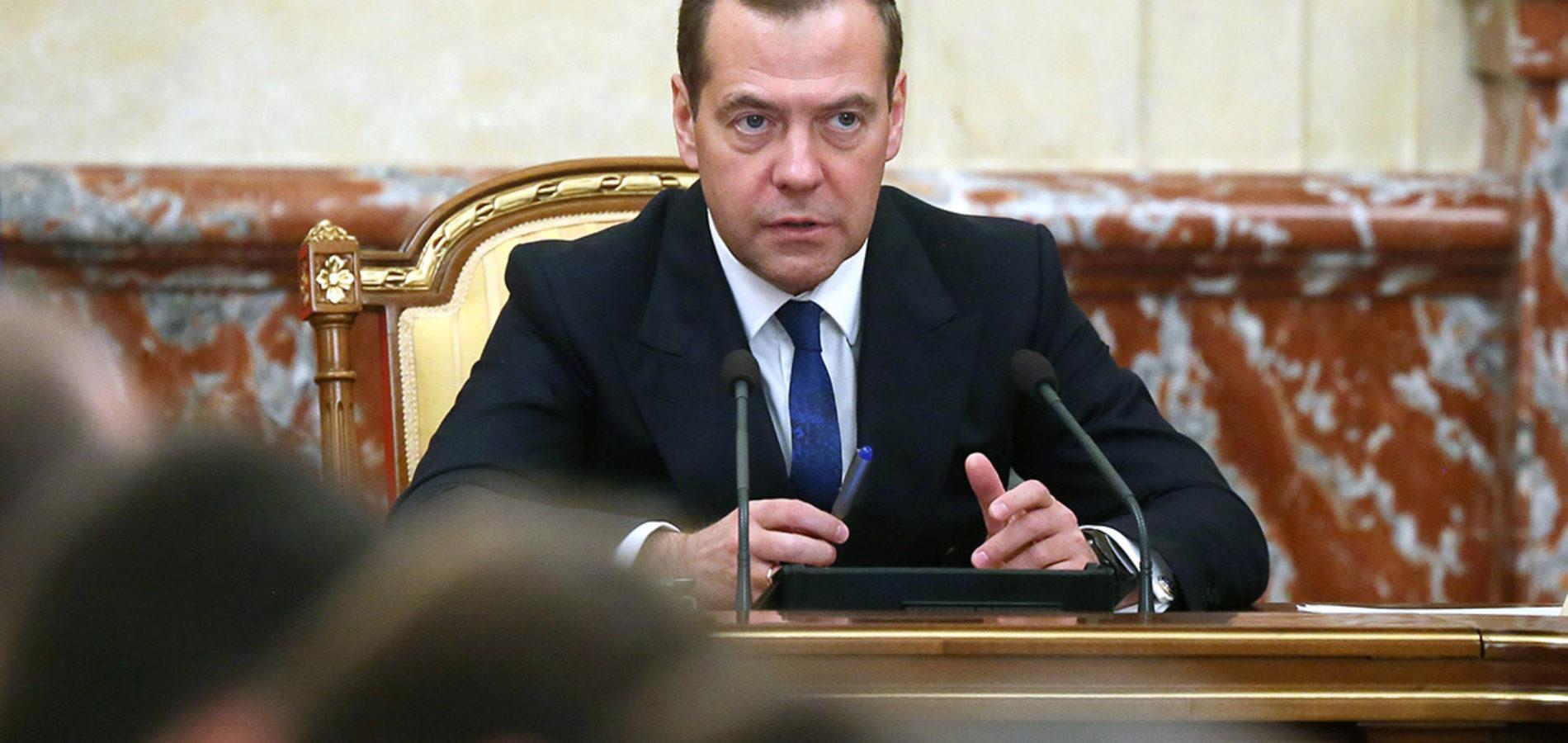 Медведев поручил проработать создание «штаба реформ»