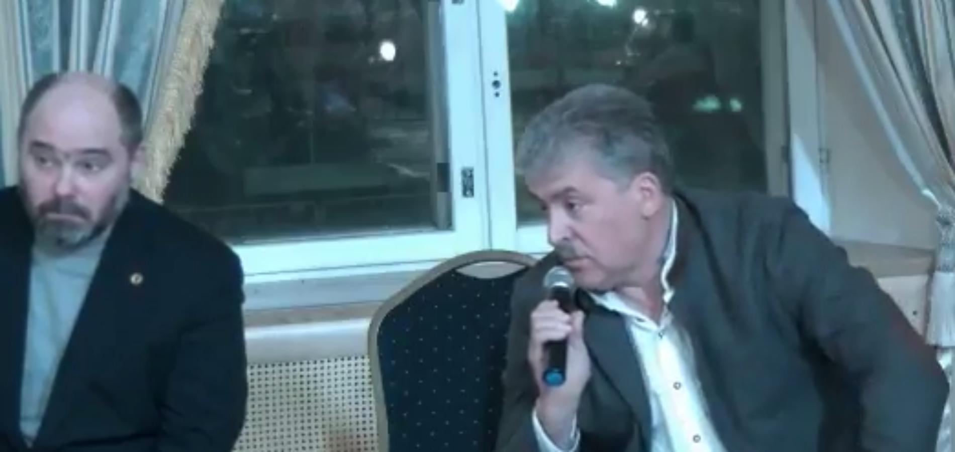 Выступление Павла Грудинина на заседании Столыпинского клуба 4 декабря 2017 года