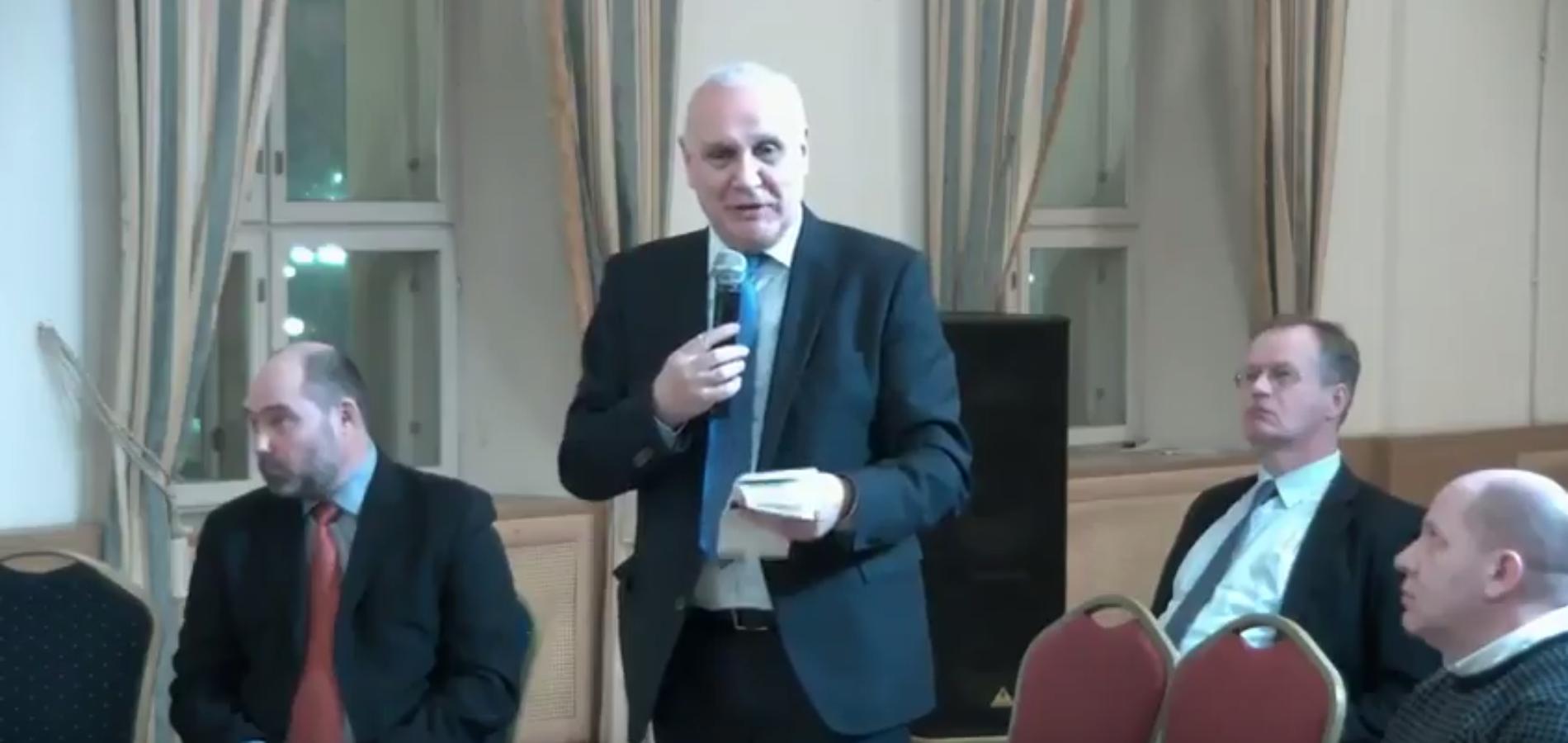Выступление Михаила Кротова на заседании Столыпинского клуба 26 декабря 2017 года